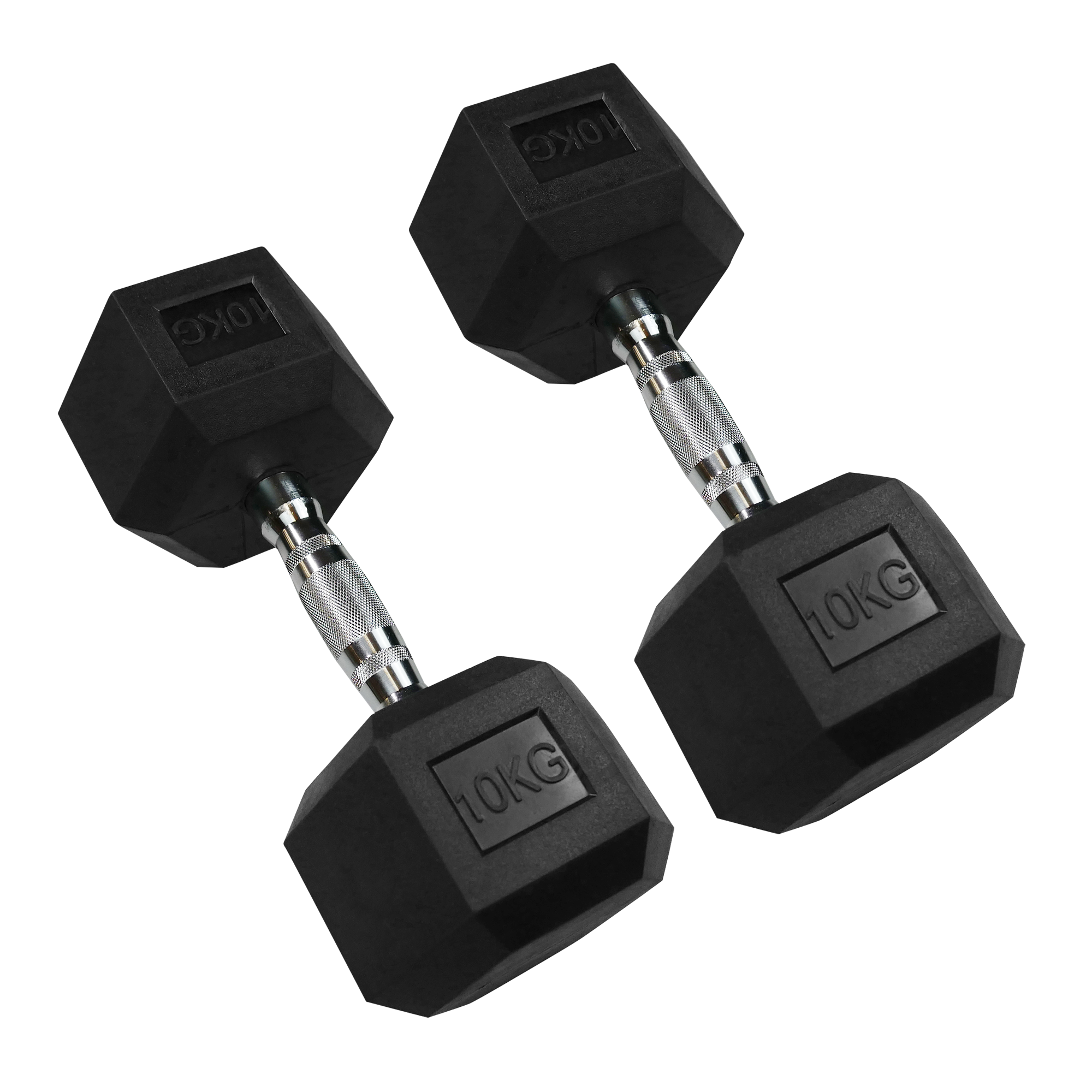 Hexagonal Dumbbell 10kg (Pair)