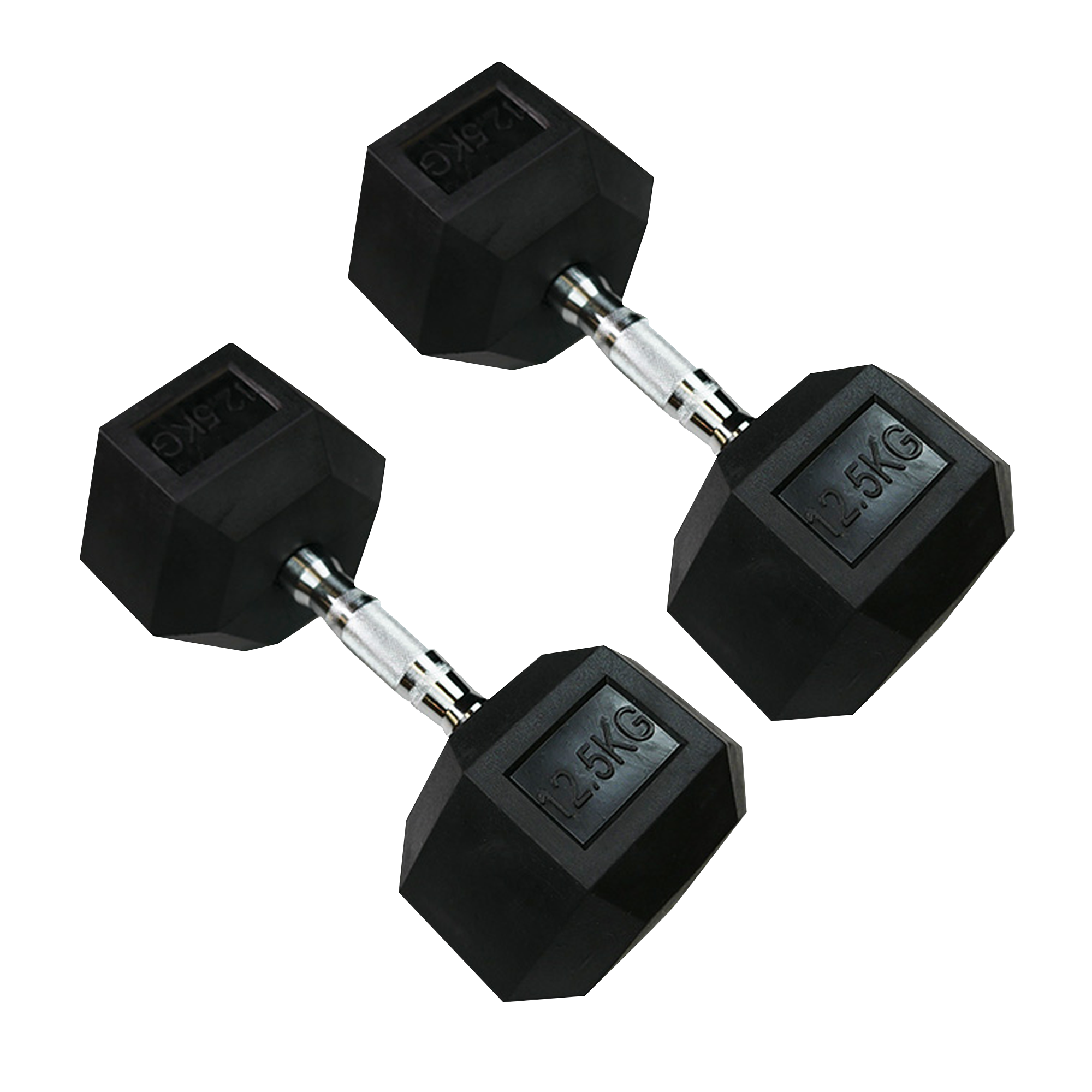Hexagonal Dumbbell 12.5kg (Pair)