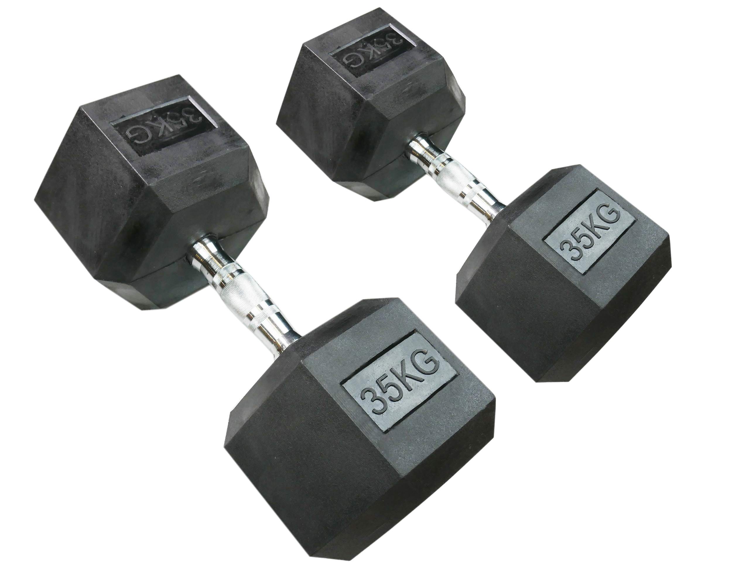 Hexagonal Dumbbell 35kg (Pair)