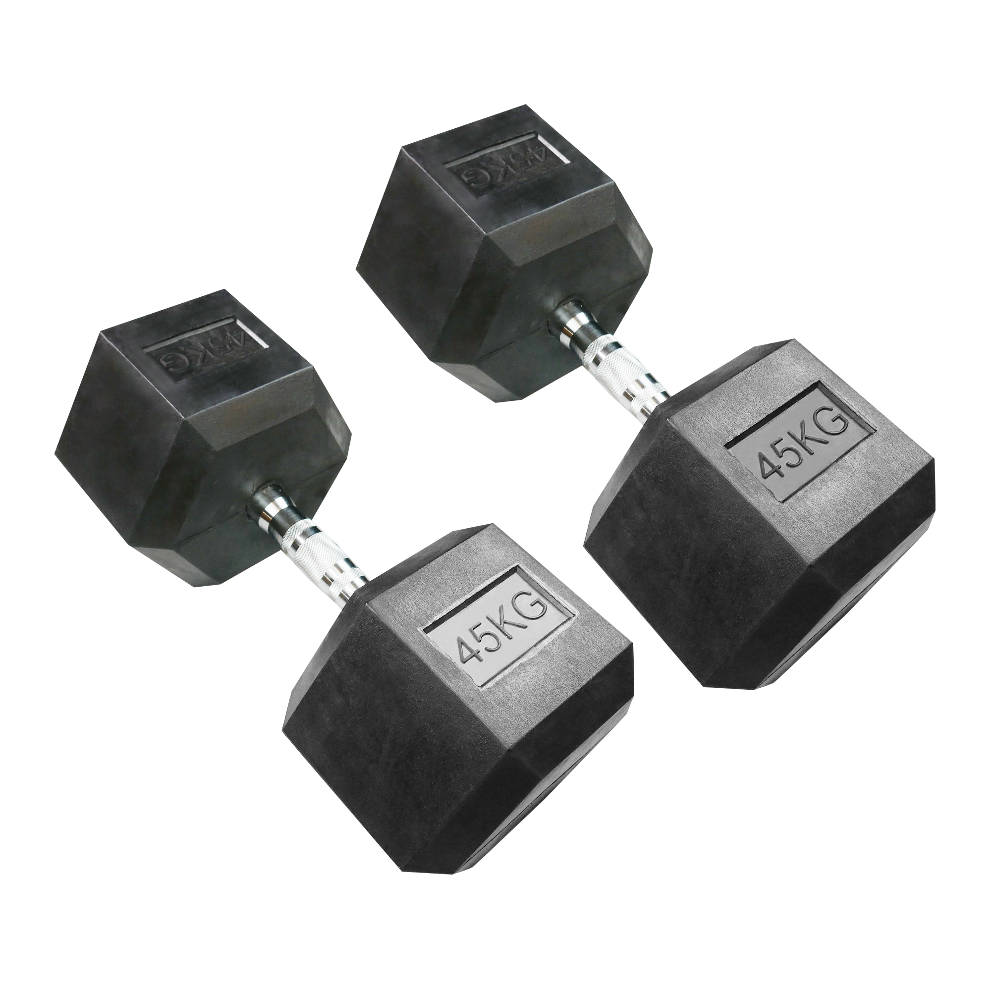 Hexagonal Dumbbell 45kg (Pair)