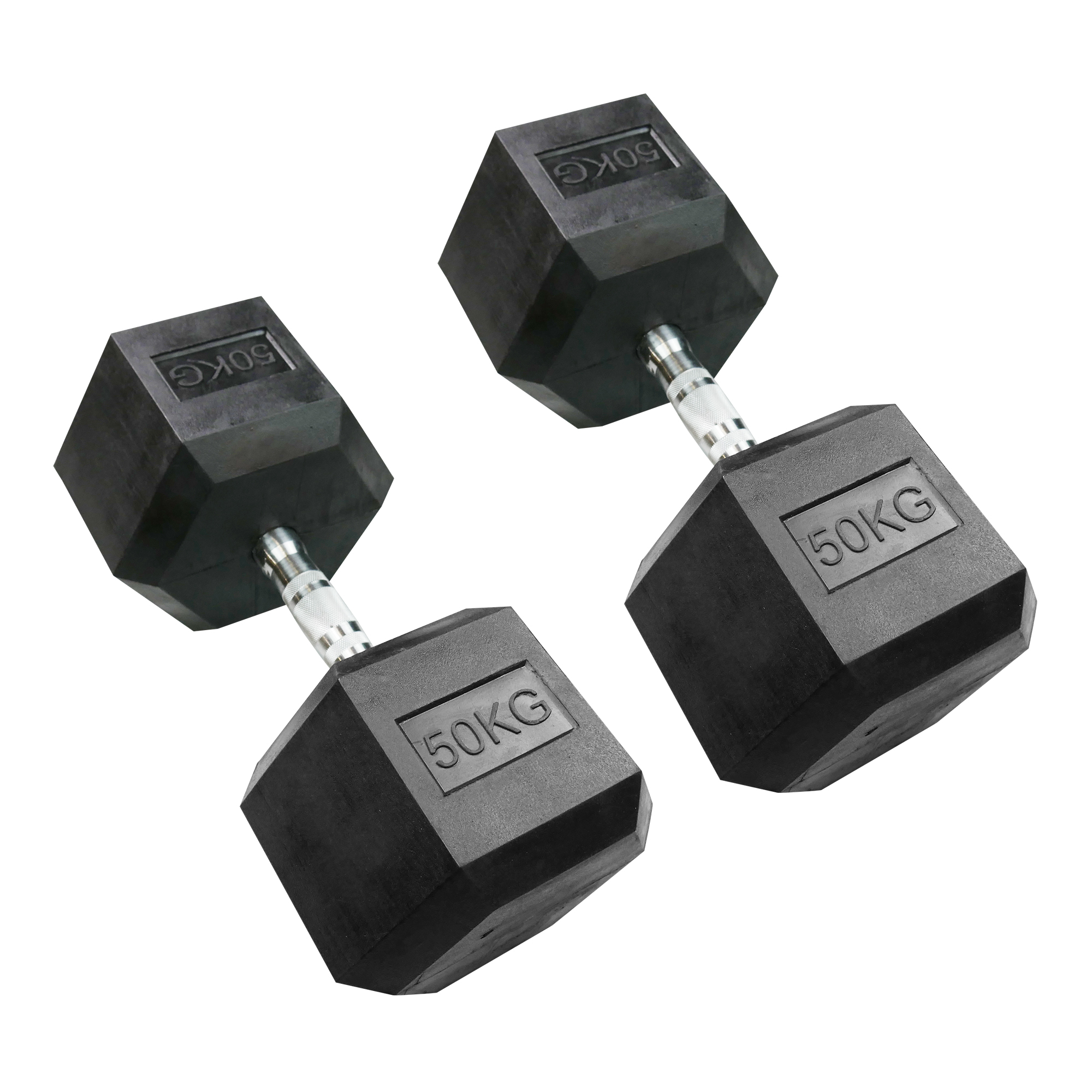 Hexagonal Dumbbell 50kg (Pair)