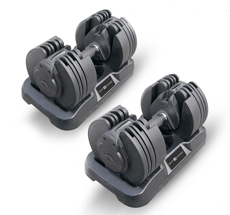 Adjustable Dumbbells (Pair) 20KG