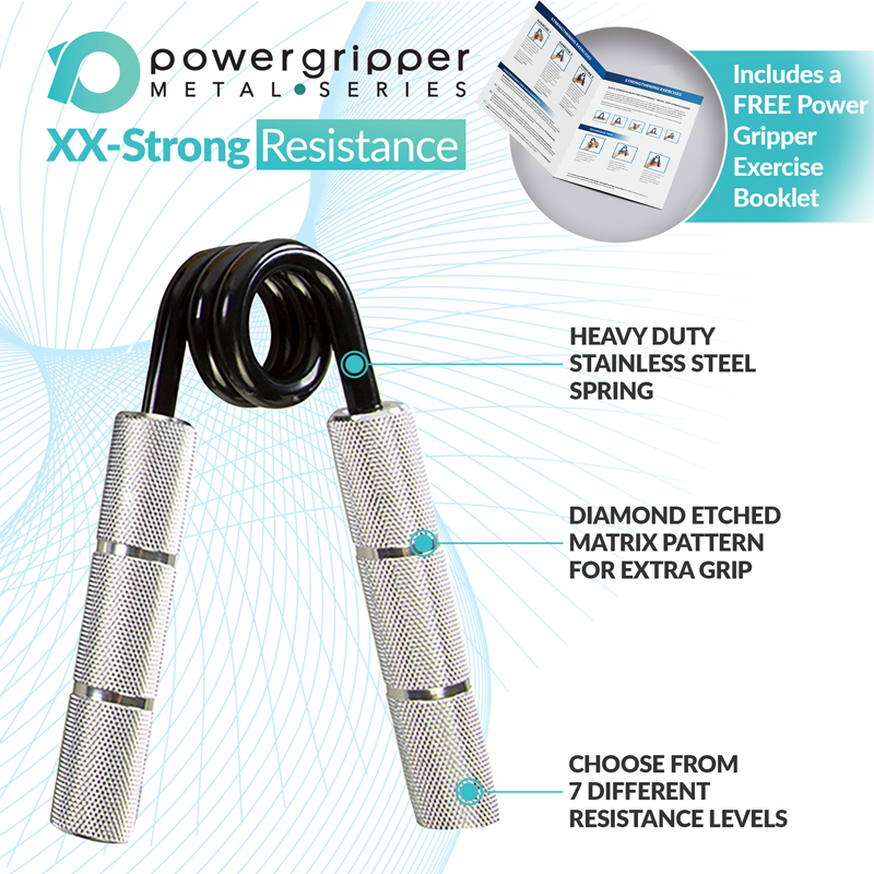 PowerGripper Silver 300lbs (XX-Strong)