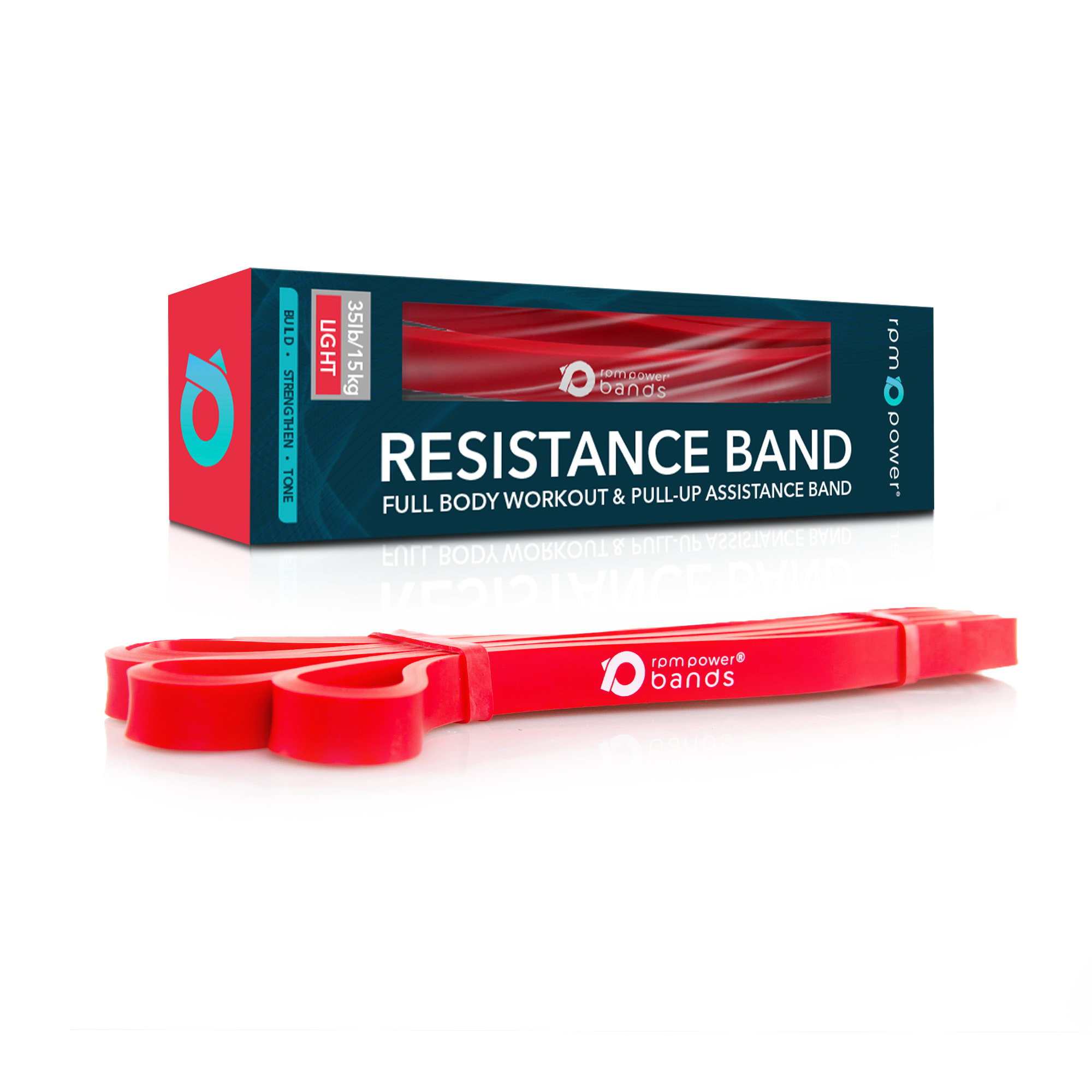 Resistance Band Red (Light) 15 - 35lbs