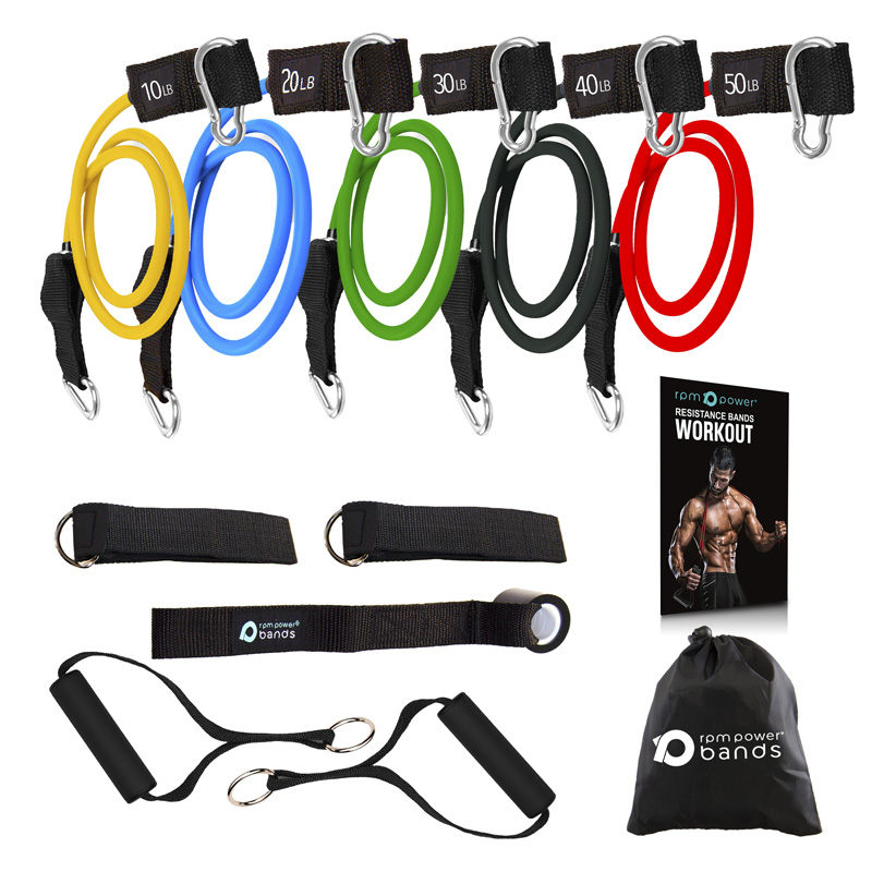 Unbreakable Resistance Tube Bands