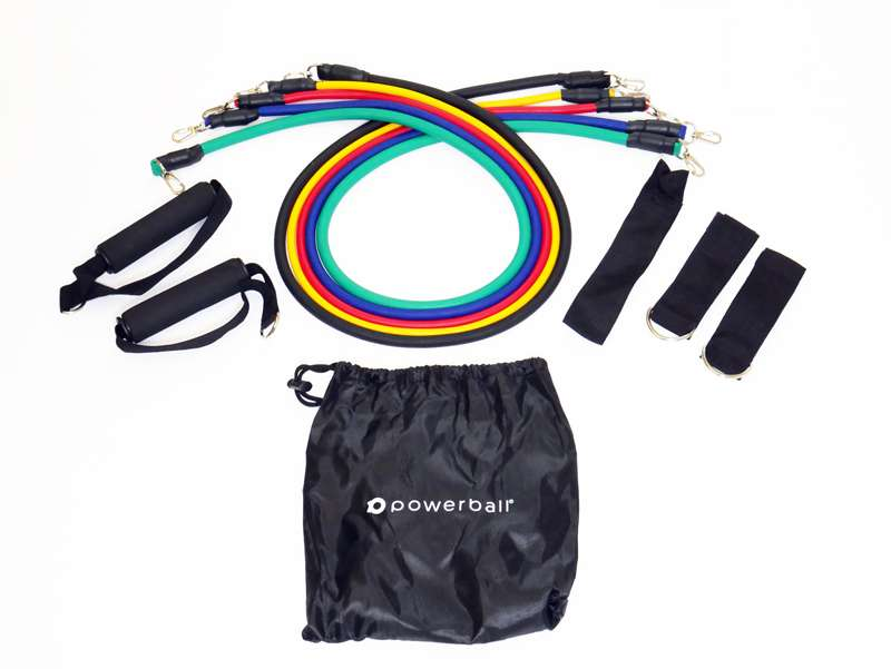 11 PC Resistance bands Set
