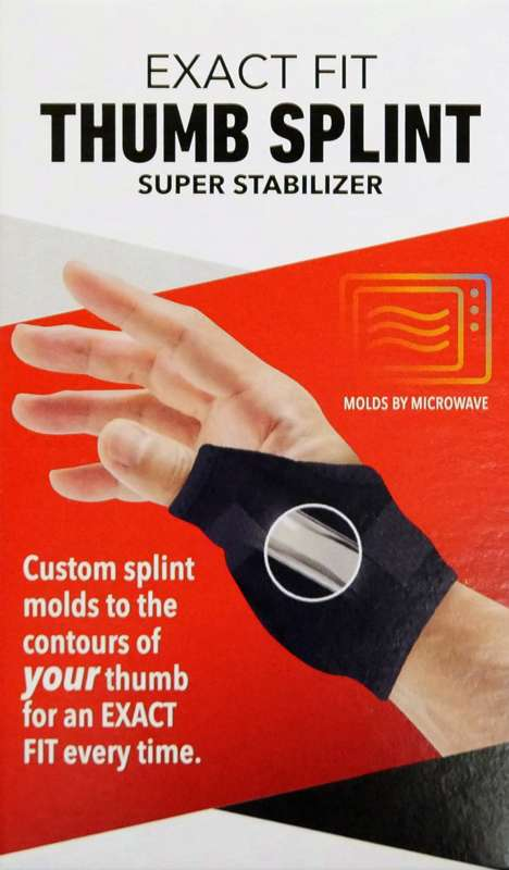 Thumb Splint Exact Fit