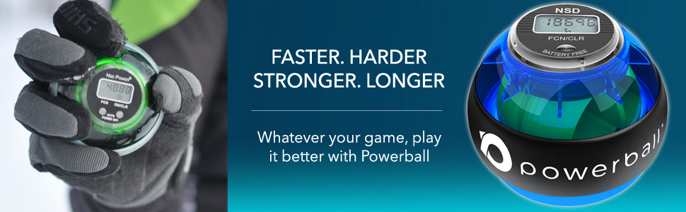 foosh injury prevention. Play harder with Powerball