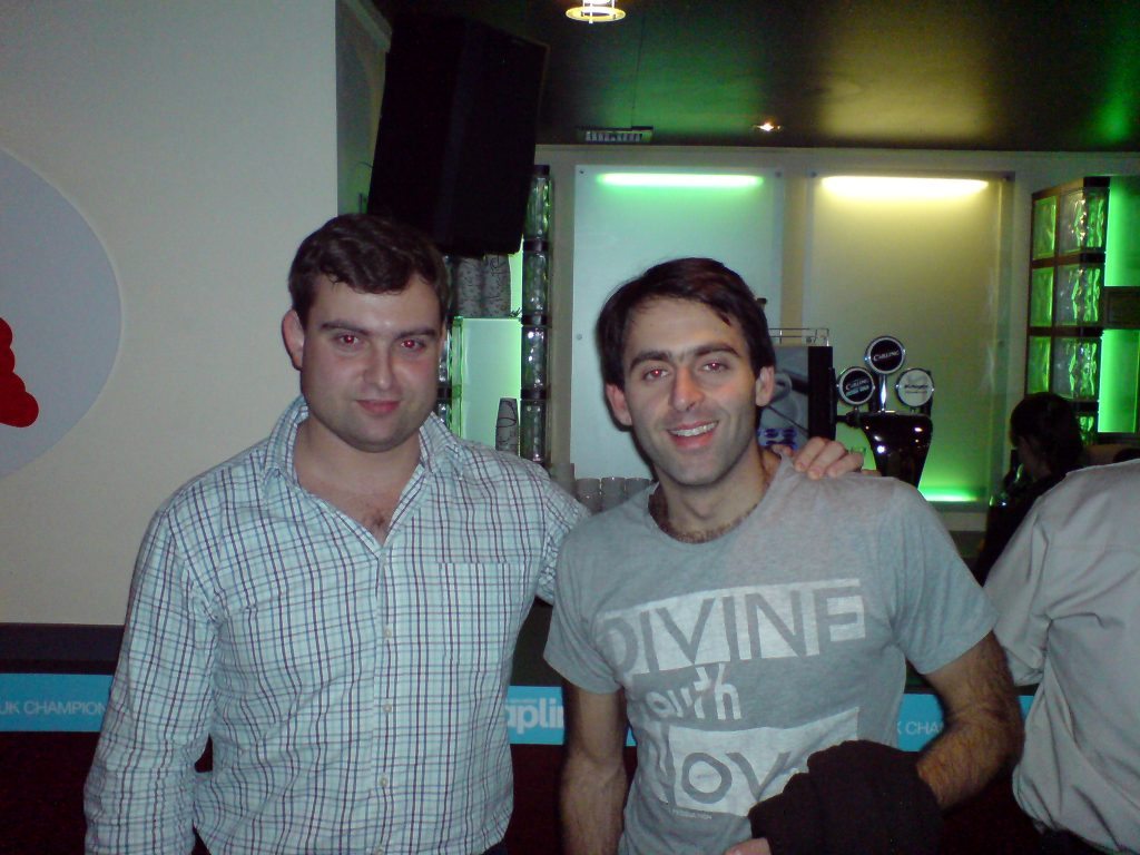 Akis and Ronnie O'Sullivan