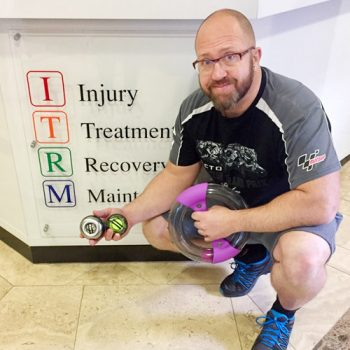 Aidan robinson physiotherapist image