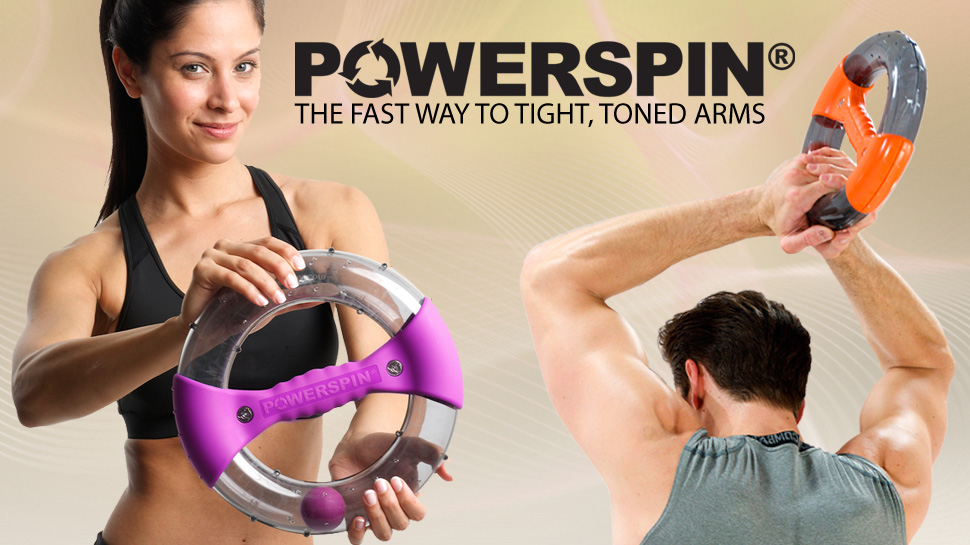 Powerspin isometric exercise device