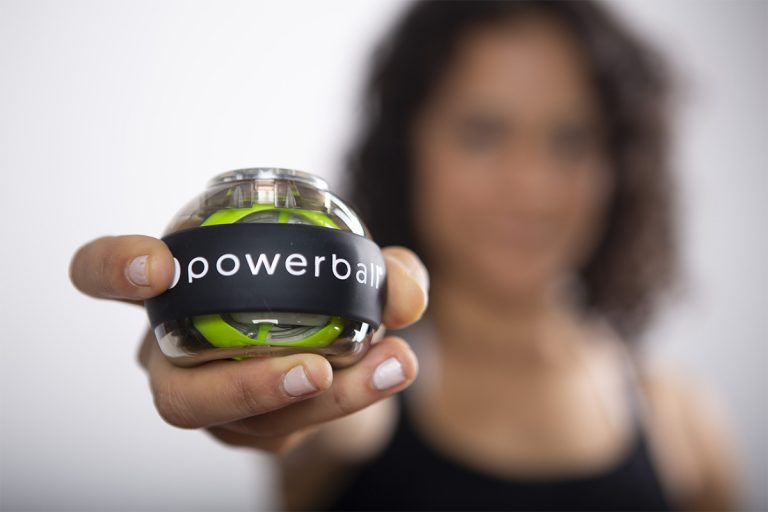 powerball, autostart powerball, muscle loss, prevent muscle loss, fractured arm