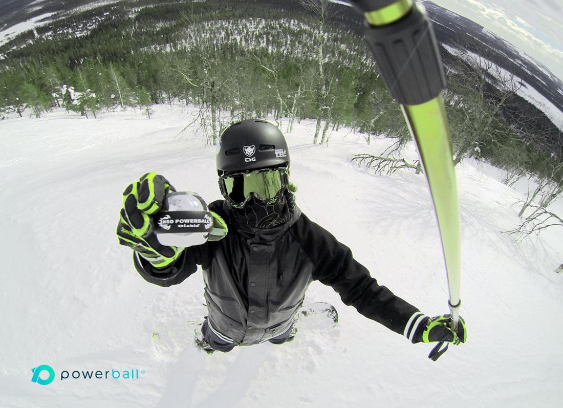 snowboard Powerball image foosh injury prevention