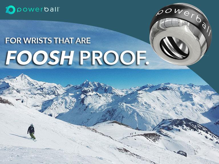 foosh injury, snowboarding slopes, prevent wrist injuries