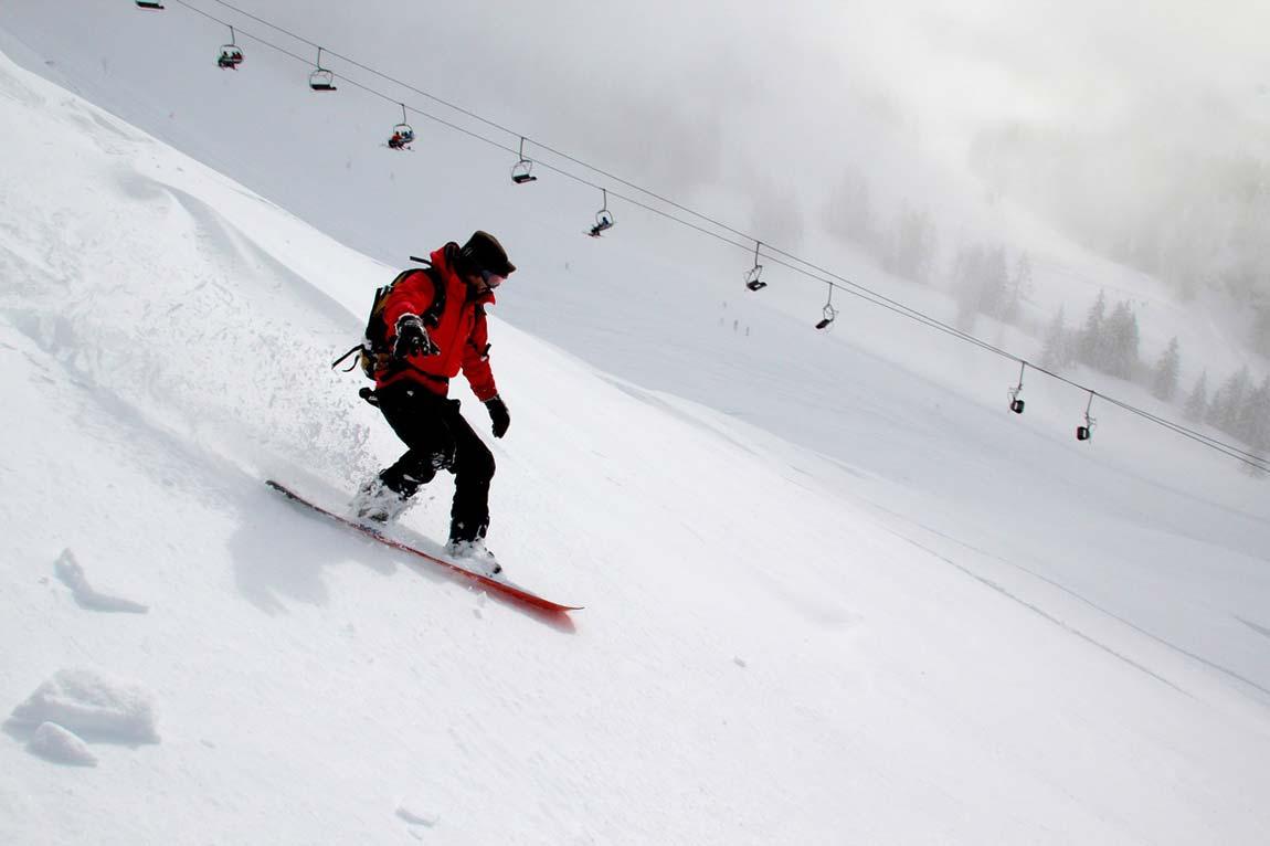 Snowboard injuries, foosh injury made easy.
