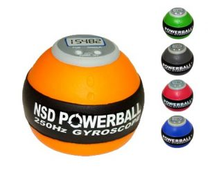 wrist physical therapy, powerball, stressball