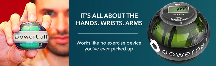 powerball, autostart 280Hz pro, finger pain, rehabilitation
