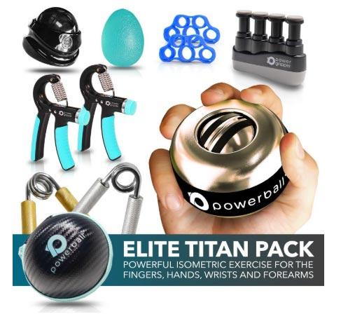 grip strength equipment, strength tools, power pack, powerball