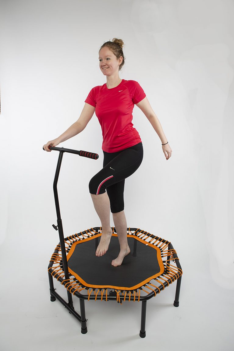 trampoline exercise, mini trampoline, trampoline workout