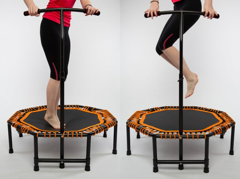 fitness trampoline workout, powerball trampoline, indoor trampoline