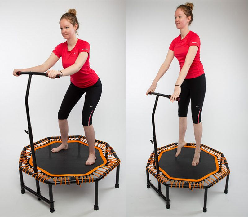 powerball, mini fitness trampoline